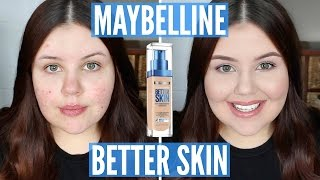 First Impressions | Maybelline SuperStay Better Skin Foundation (Acne Scarring)