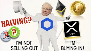 Warren Buffett CHANGES His Tune On BITCOIN! BSV & BCH Halving in Apr = Price EXPLOSION! XRP & Bitso!
