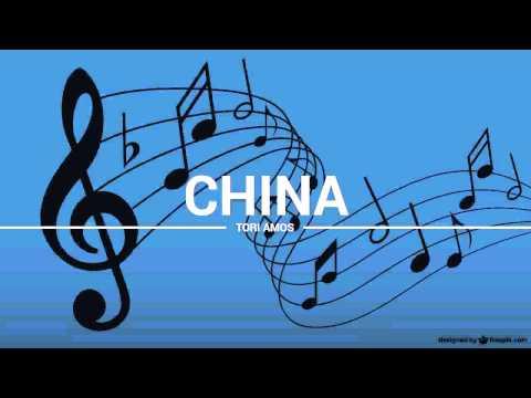 Tori Amos - China (lyrics, karaoke, cover)