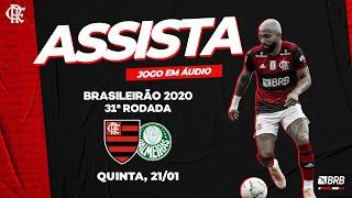 Flamengo x Palmeiras AO VIVO na Fla TV   Brasileirão 2020