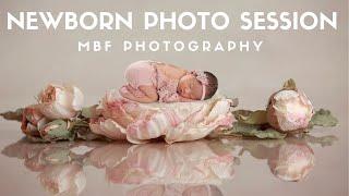 In Studio Newborn Photo Session