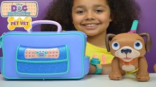 Doc Mcstuffins Pet Vet | Veterinarian Bag | Find and Fetch Findo | Kids Toy Review