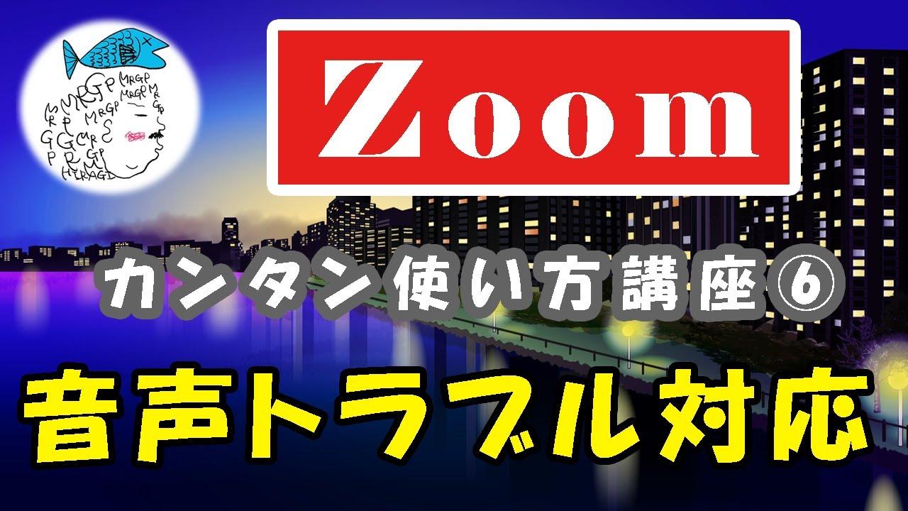 防止 Zoom ハウリング