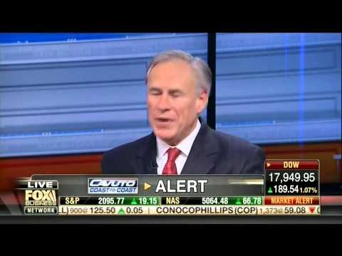 Governor Abbott Discusses Border Security, Texas Economic Model On Fox Business Network