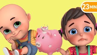 Piggy Bank Song | save money | Jugnu Kids Nursery Rhymes & baby songs | kids Cartoon