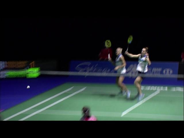 YONEX Swiss Open 2021 | Day 6: G. Stoeva/S. Stoeva (BUL) [3] vs Tan/Thinaah (MAS)