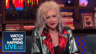 Did Cyndi Lauper Hate 'We Are The World' | WWHL