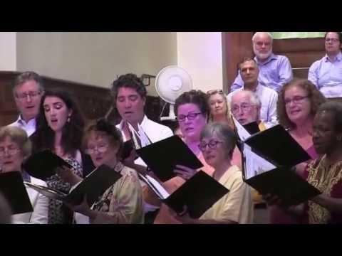 Interfaith Choral Concert - calvary presbyterian church 9 25 2016