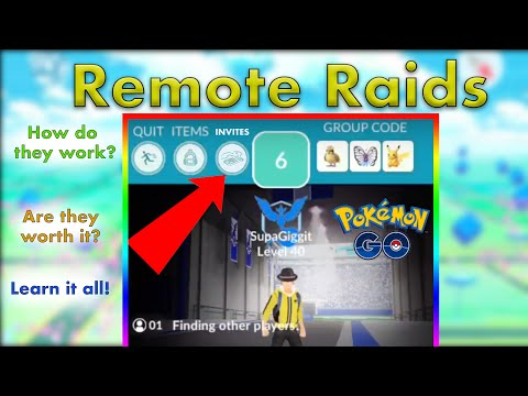 Remote Raiding: Everything You Need To Know In Pokemon Go // Raid From Home And Remote Raid Passes!