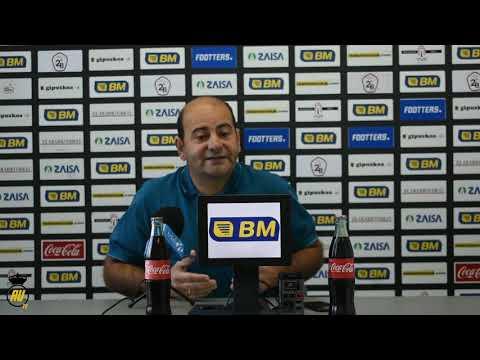 Jornada 10: Rueda de prensa previa de Alberto Iturralde