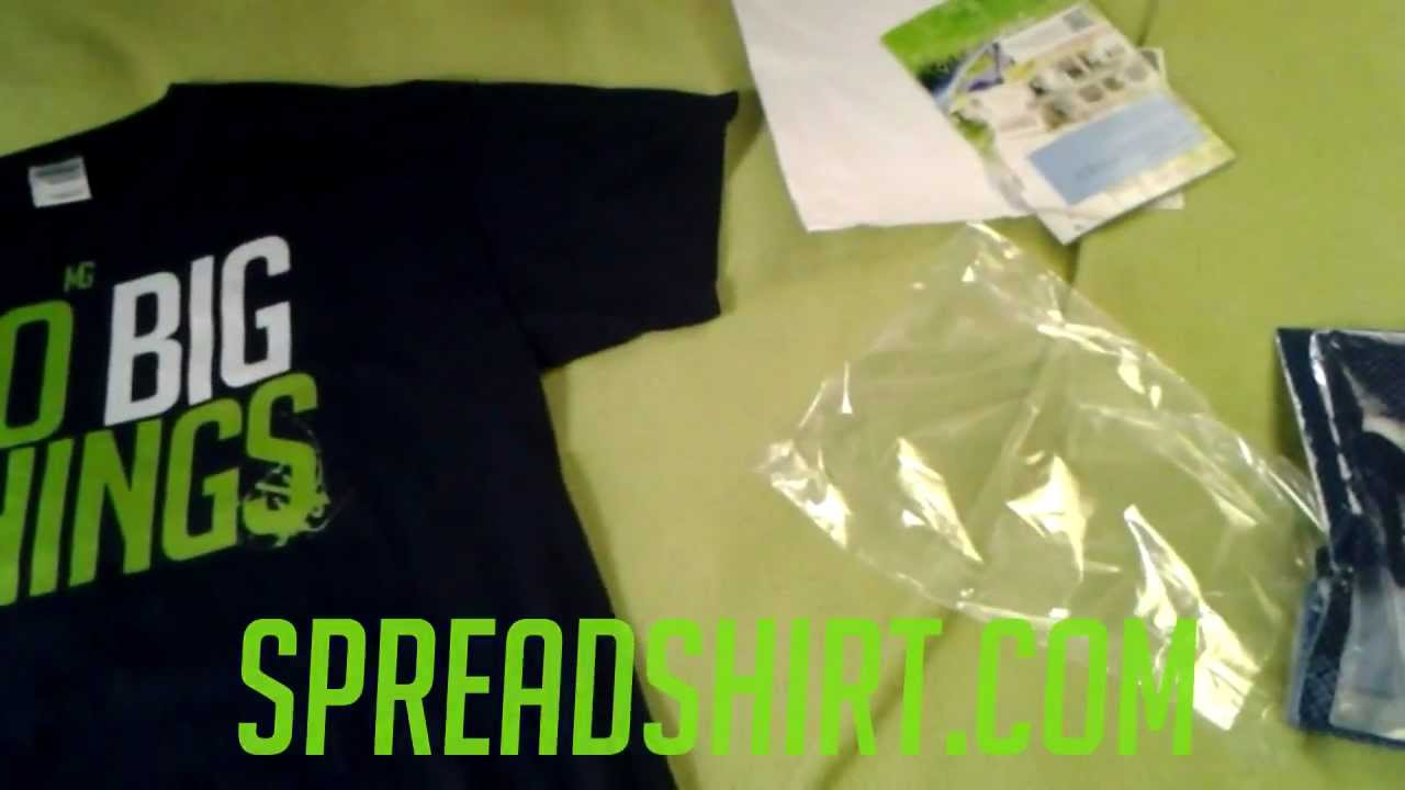 Spreadshirt Custom T Shirt Review Awesome Youtube