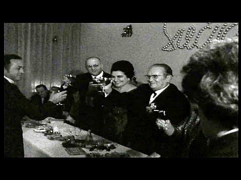 Josip Broz Tito i Jovanka doček nove 1972. godine u Ljubljani, Slovenija