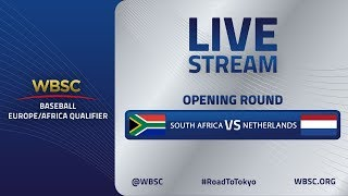 South Africa v Netherlands - Baseball Europe/Africa Olympic Qualifier