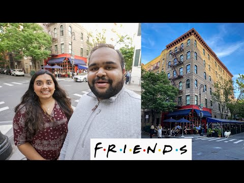 FRIENDS REUNION SPECIAL!! WE WENT TO THE FRIENDS APARTMENT IN NYC