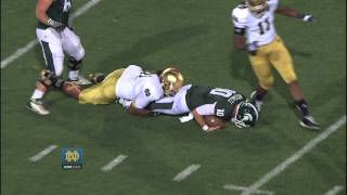 Michigan State Highlights - Notre Dame Football