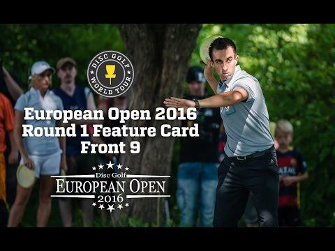 DGWT EO2016 Round 1 - Feature Card, Front 9 (McBeth, Allen, Hirsimäki, Rotmeister)