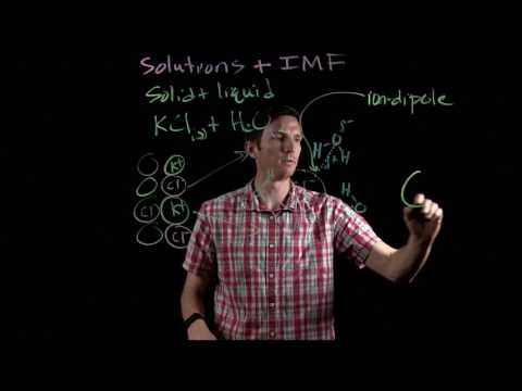 Formation of a Solution - Solid Solute