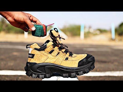 Sutli vs Woodland Shoes   EXPERIMENT