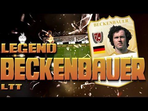 Kênh LTT | Review F. Beckenbauer world legend - FIFA Online 3 Việt nam