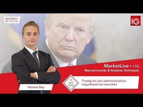 #MarketLive 11h - Jeudi 14 mars 2018