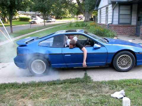 Worksheet. 1986 Pontiac Fiero GT Burnout  YouTube