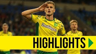 CARABAO CUP HIGHLIGHTS: Cardiff City 1-3 Norwich City