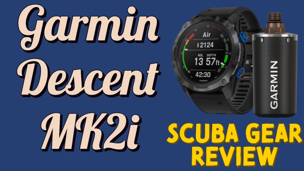 Garmin Descent MK2 dive computer, is it worth the price tag?