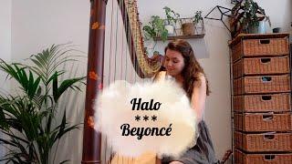 Halo - Beyoncé (harp cover)