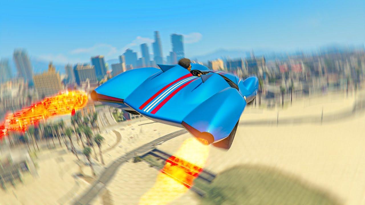 Driving the scramjet in GTA be like...