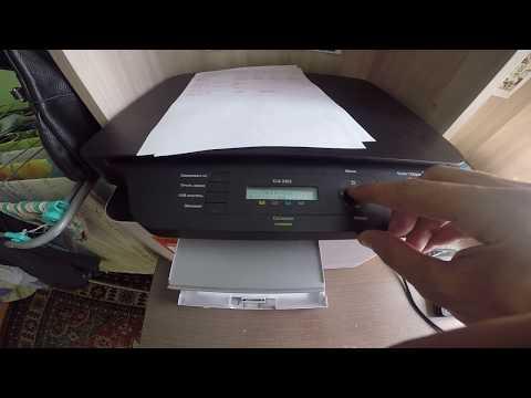 Сброс счетчиков на лазерном принтере Samsung CLX-3305