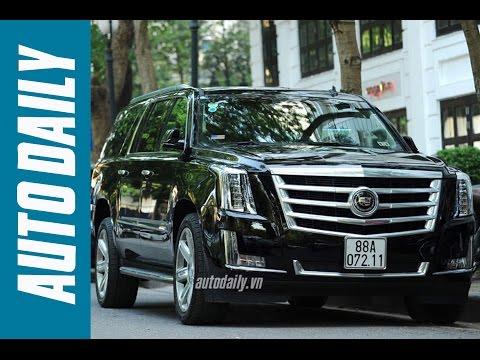 "Trải nghiệm nhanh ""khủng long Mỹ"" Cadillac Escalade Platinum |Autodaily.vn|"