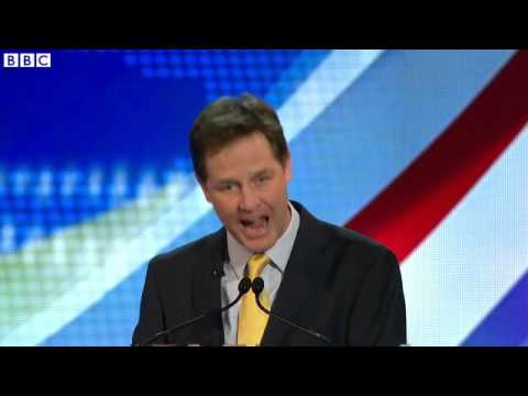 Nigel Farage Says Nick Clegg 'Wilfully Lying' In EU Debate 03/04/2014