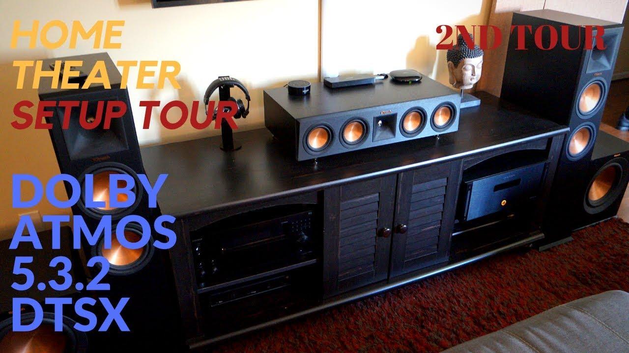 Damson S-Series Sistema Home Theatre Dolby Atmos 5.1.2 ...