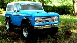 Repeat youtube video TAMIYA CC-01 FORD BRONCO on a park