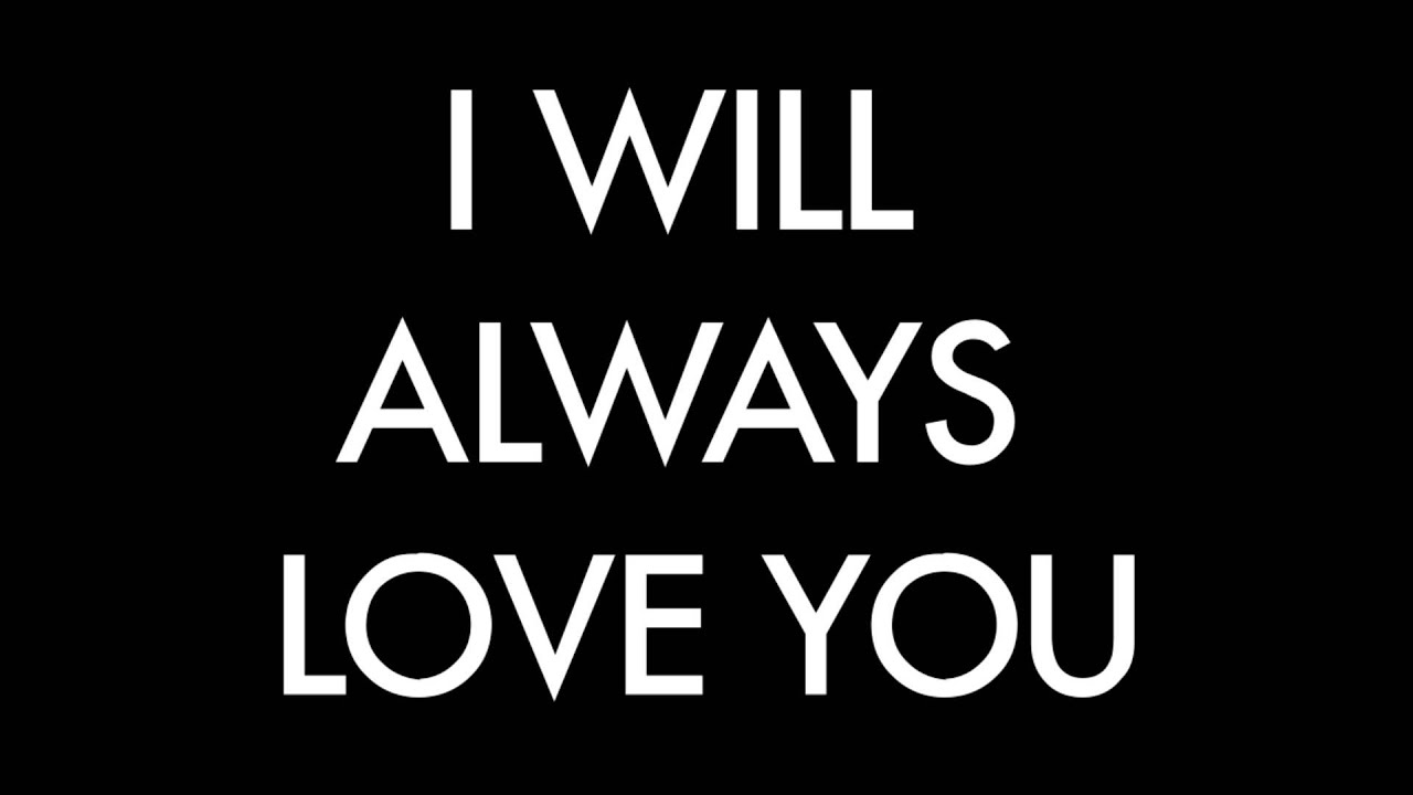 Download I will always love you - Sam Tsui