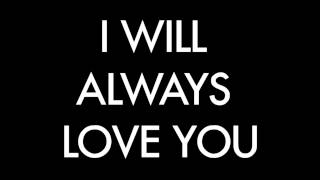 I will always love you - Sam Tsui