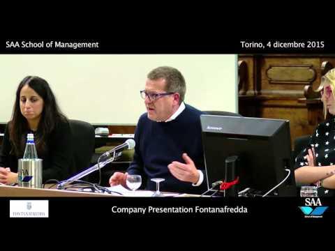 Fontana Fredda - SAA School Of Management