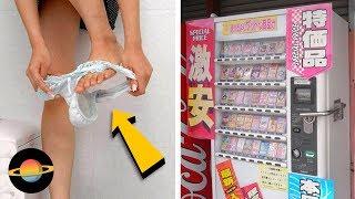 10 najdziwniejszych automatów sprzedających na świecie