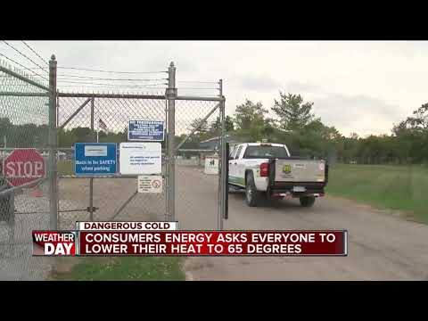 Consumers Energy Senior VP of Operations speaks about gas emergency