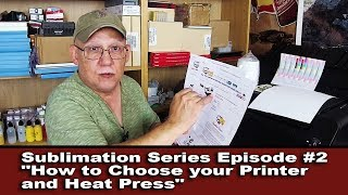 Jose Rodriguez-Sublimation Printing Series Episode #2