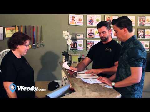 First time medical marijuana patient tour of a cannabis dispensary