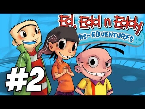 Ed, Edd n Eddy: The Mis-Edventures Walkthrough | Pin the Tail on the Ed | Part 2 (Xbox/PS2/Gamecube)