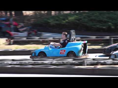Go Karts at Malibu Grand Prix Mar 2014