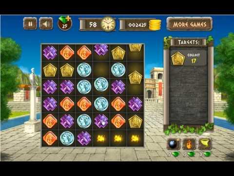 Athens Treasure - Facebook Gameplay