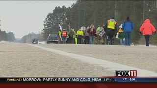 100 miles in: Menominee continue walk to Madison