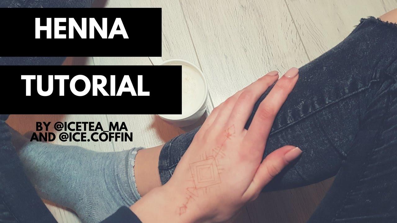 Henna Tattoo Tutorial : Henna tattoo tutorials makedes