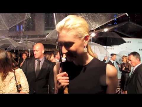 Interview With Elizabeth Debicki At The Great Gatsby Premiere 2013