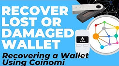 Recover Lost/Damaged Ledger, Trezor or Keepkey Wallet using Coinomi (Importing Recovery Phrase)