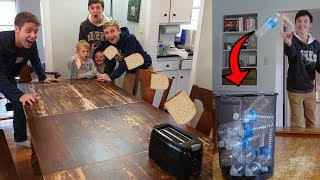 REAL LIFE TRICK SHOT WORLD RECORD BATTLE! Ft. That's Amazing thumbnail