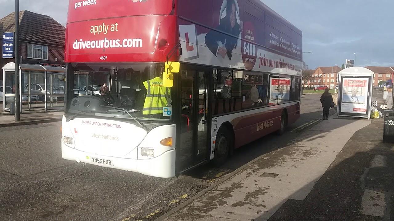 Nxwm Scania Training Bus 4697 Yn55 Pxb Aldridge